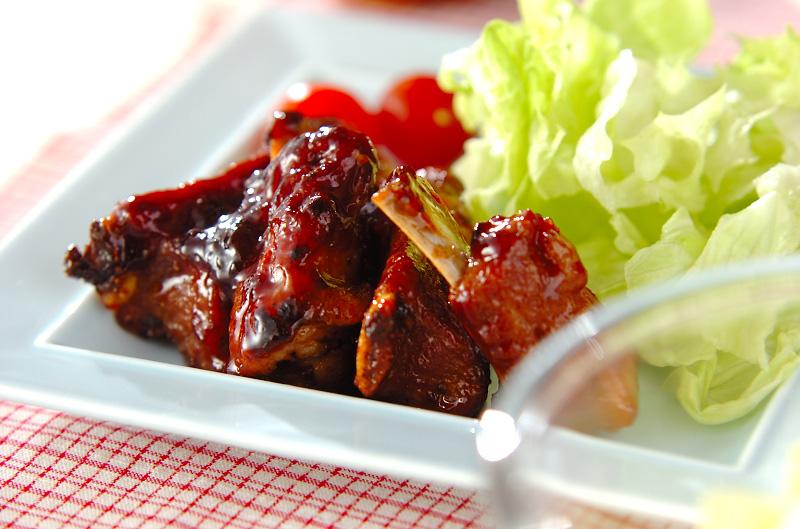 骨付き豚バラ肉のママレード煮の作り方の手順
