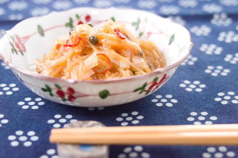 ピリ辛ジャガイモ炒めの作り方の手順