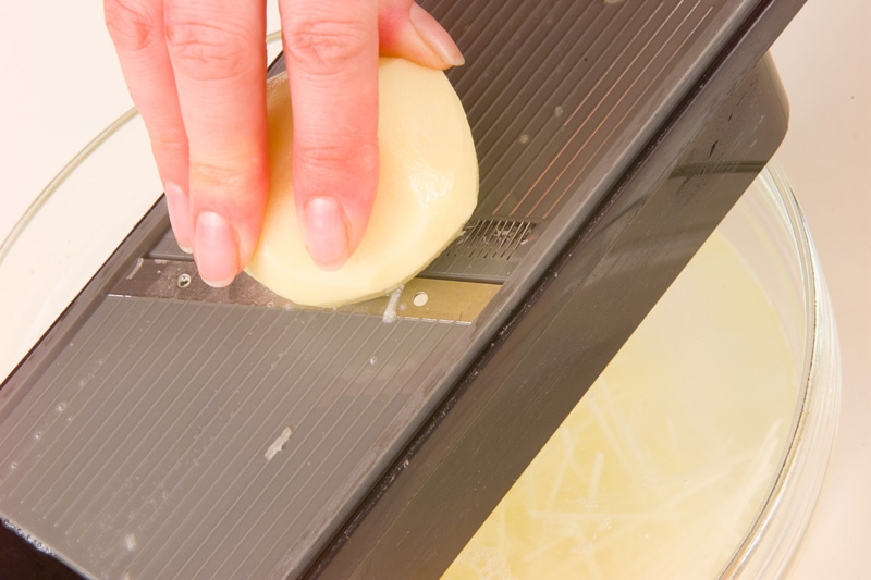 ピリ辛ジャガイモ炒めの作り方の手順1