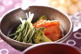 水菜のサッと煮の作り方の手順