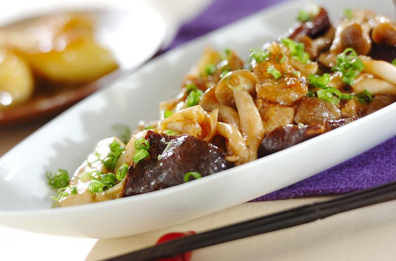 キノコと豚肉の旨味炒め【E・レシピ】料理のプロが作る簡単レシピ/2008.09.29公開のレシピです。