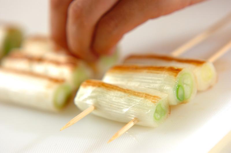 ネギづくしのみそ焼きの作り方の手順4
