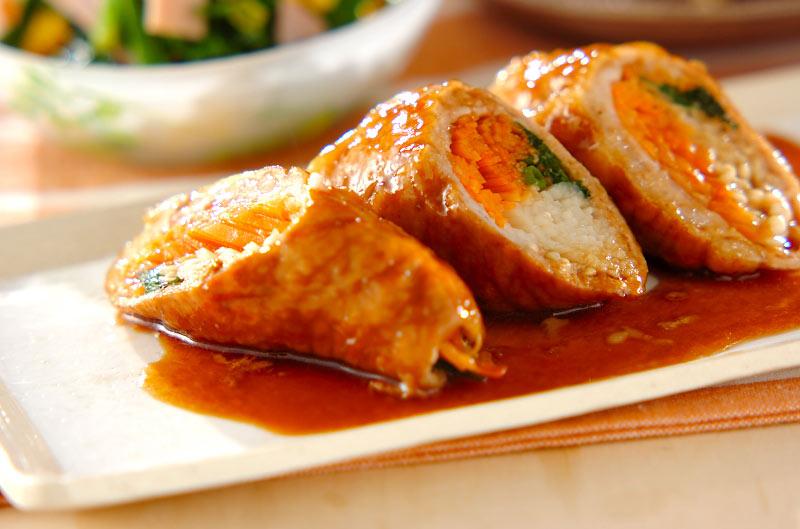 冷めてもおいしい!三色野菜の豚肉巻きの作り方の手順