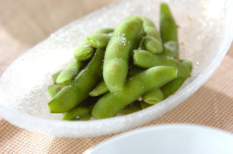 塩枝豆の作り方の手順
