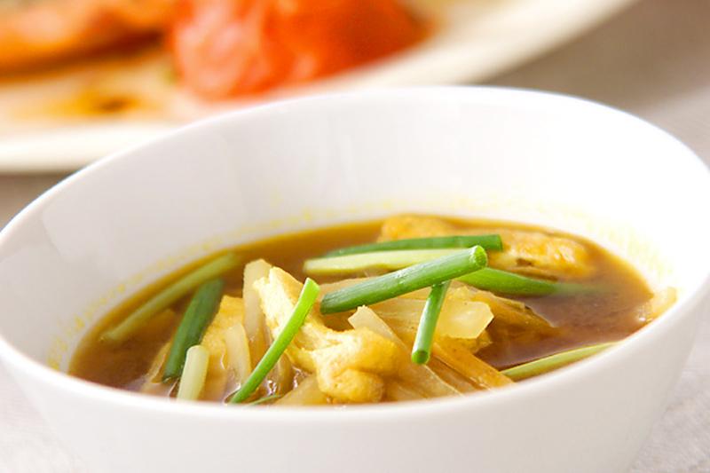 簡単カレースープ