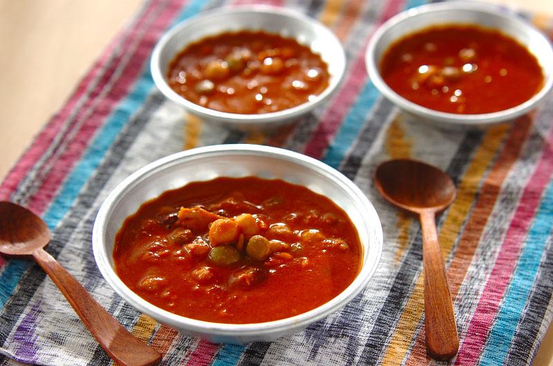 ツナと豆のココナッツカレーの作り方の手順