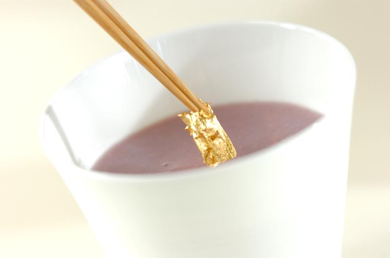 紫イモのスープの作り方の手順4