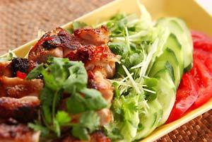 鶏肉のパリッと焼き