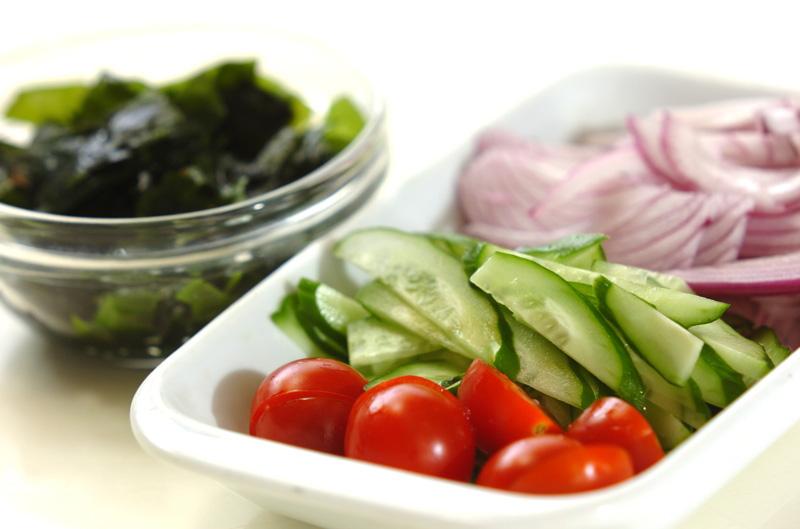 残り野菜のサッパリ冷やしスープの作り方の手順1