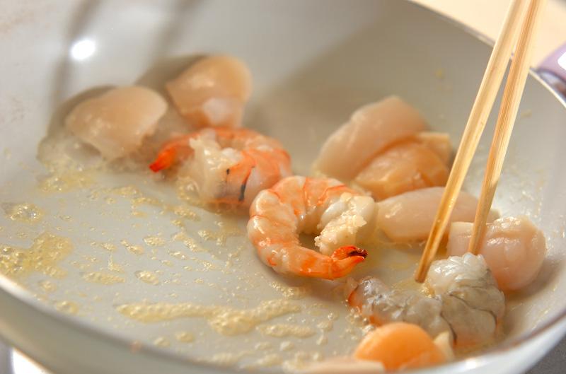 冷凍パイシートで魚介のキッシュの作り方の手順11