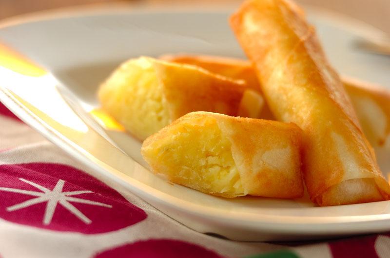 サツマイモのチーズ春巻きの作り方の手順