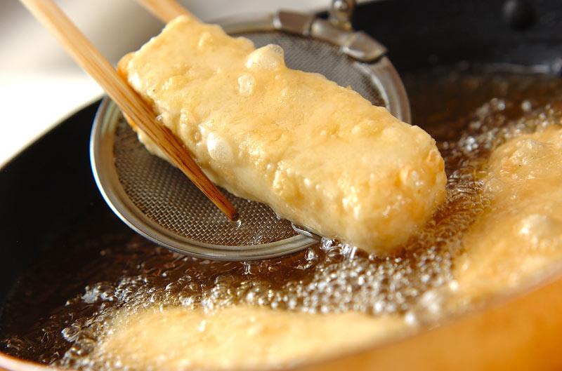 ナメコあんかけ揚げ出し豆腐の作り方1