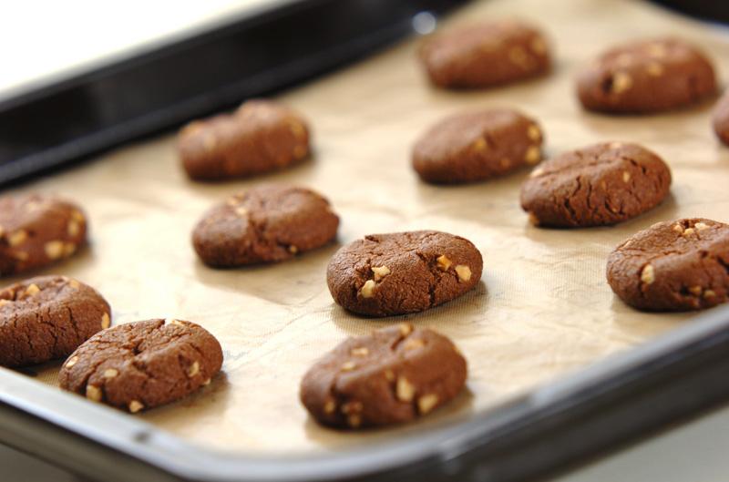 アーモンドココアクッキーの作り方の手順4