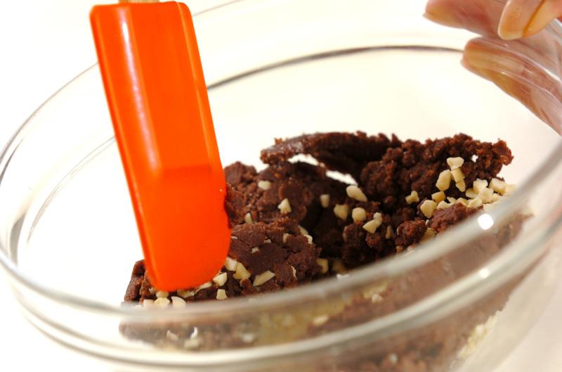 アーモンドココアクッキーの作り方の手順3