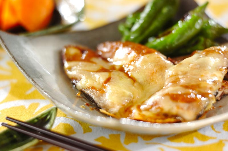 サンマのみそチーズ焼き