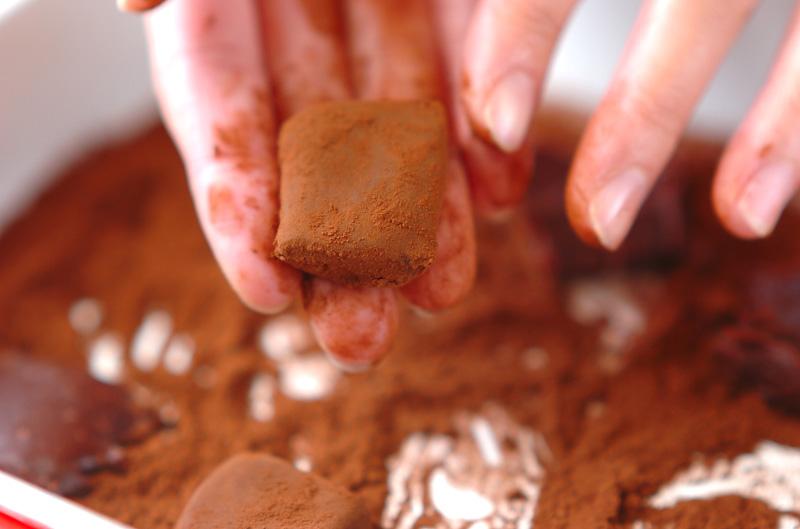 生チョコ・フランボワーズの作り方の手順9