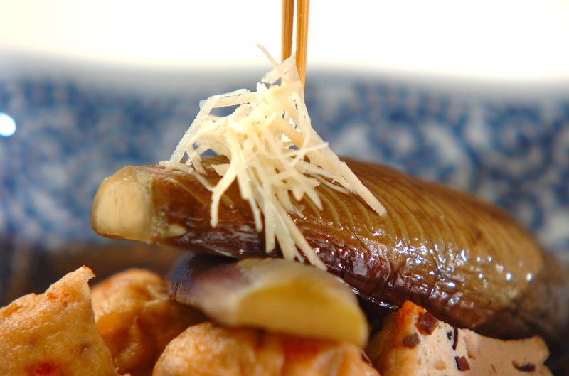 ナスとひりょうずの煮物の作り方の手順7
