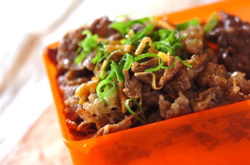 牛肉のしぐれ煮丼
