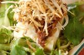 新ゴボウの揚げサラダ