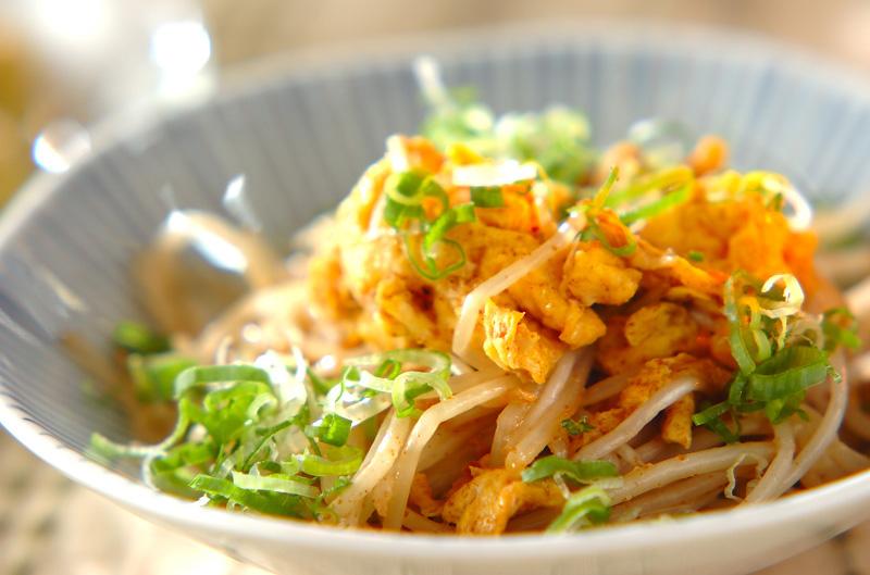 モヤシと卵のマヨ炒め【E・レシピ】料理のプロが作る簡単レシピ/2009.11.02公開のレシピです。
