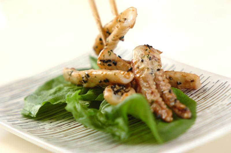 イカのガーリックマヨ炒めの作り方の手順5