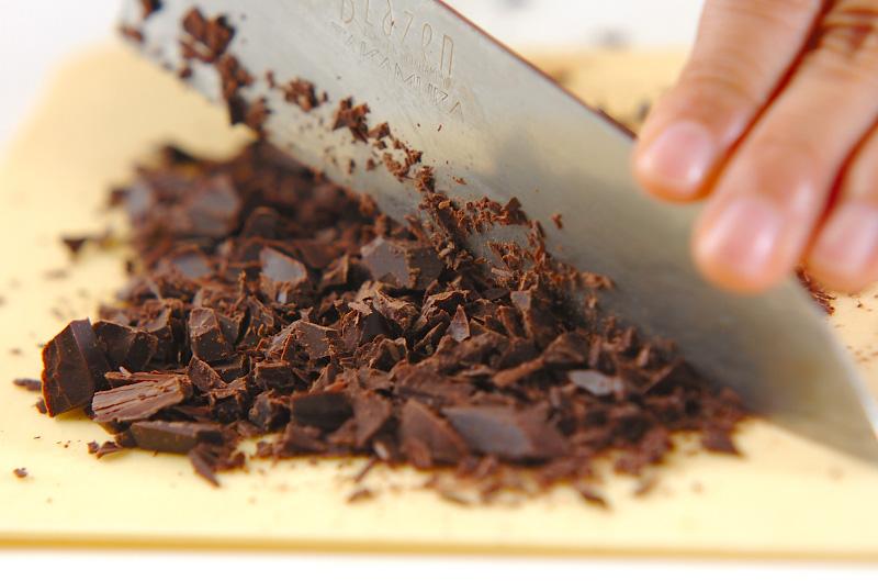 クッキーのチョコサンドの作り方の手順1