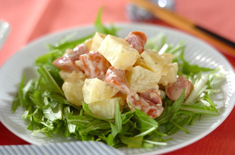 ゴロゴロジャガイモのサラダ