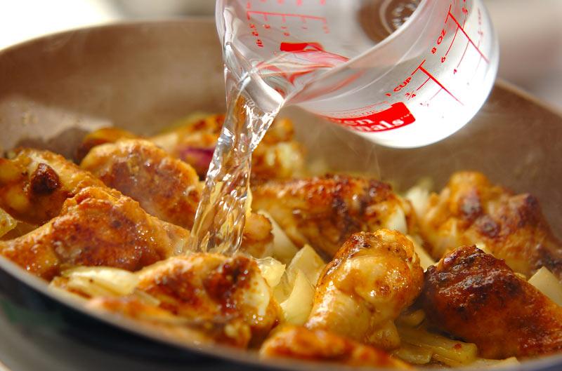 鶏手羽のカレーミルク煮の作り方の手順6