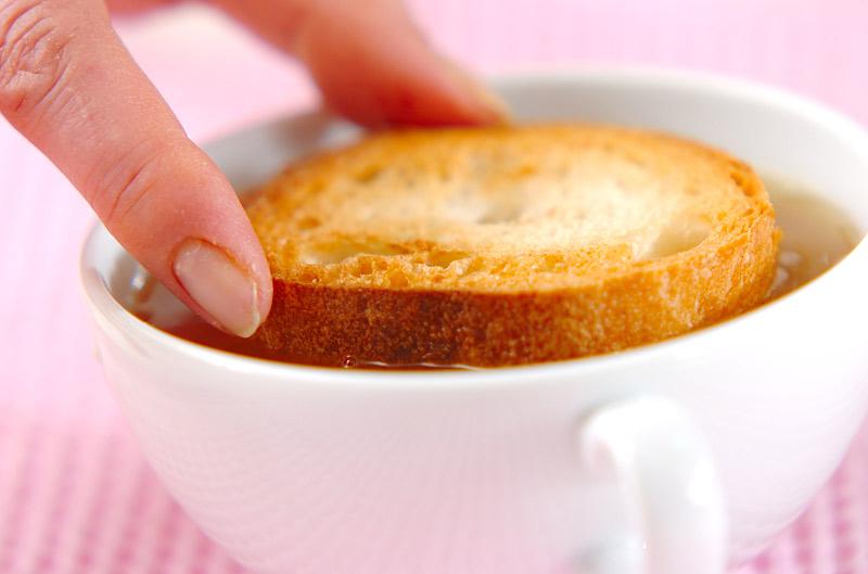 新玉ネギのスープの作り方の手順6