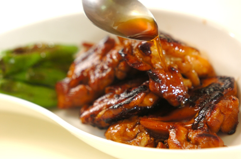 フライパンで照り焼きチキンの作り方の手順6