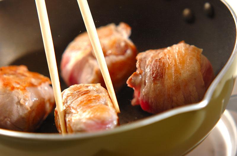 肉巻きおにぎりの作り方の手順4
