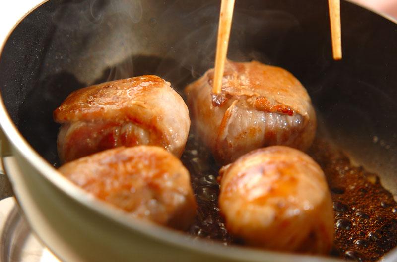 肉巻きおにぎりの作り方の手順5
