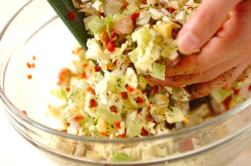 タコキャベツ焼きの作り方の手順6