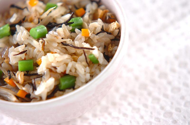 芽ヒジキの炊き込みご飯