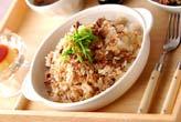牛肉の混ぜご飯の作り方の手順