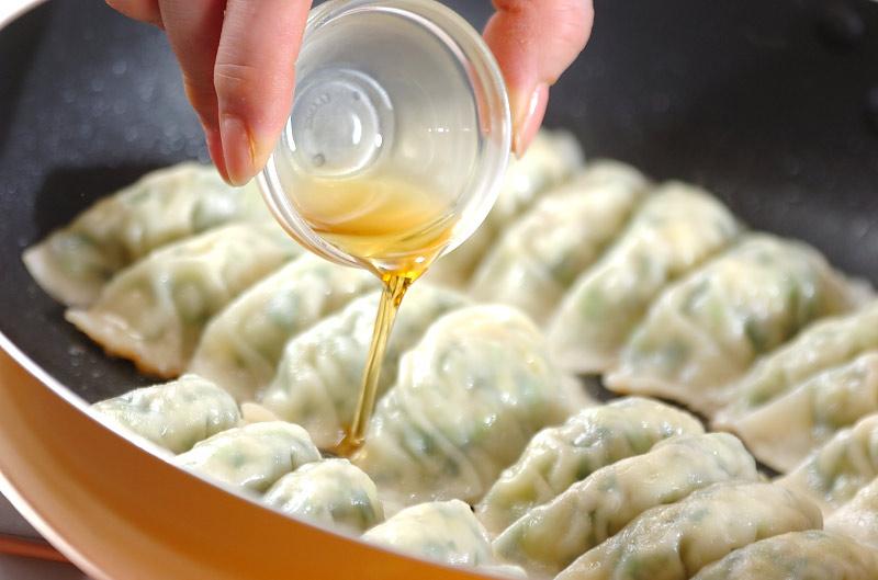 春キャベツの餃子の作り方の手順8