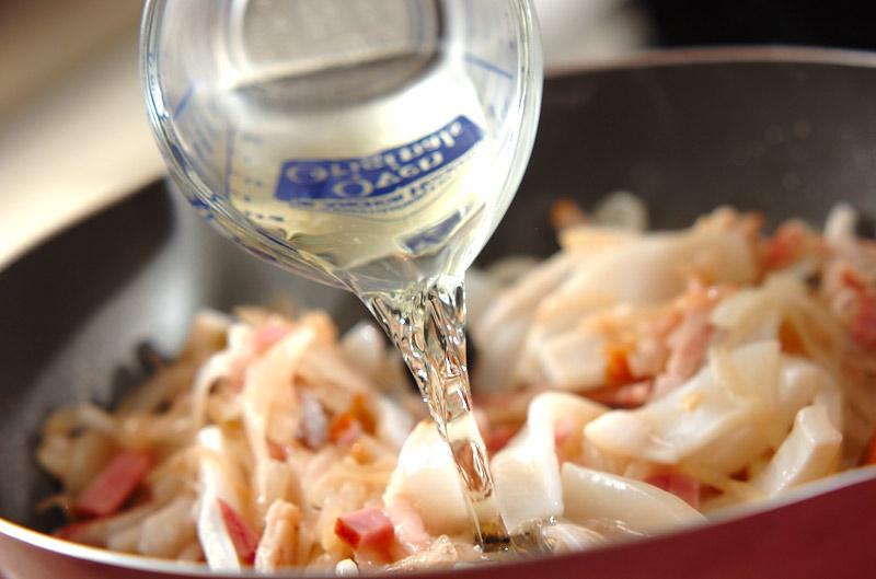イカと野菜のトマト煮込みの作り方の手順6
