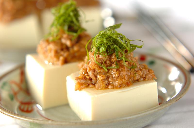 レンジ 肉 豆腐