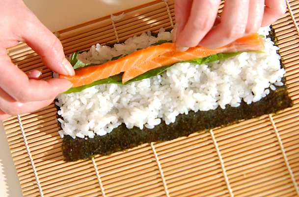 春の寿司天ぷらの作り方の手順5