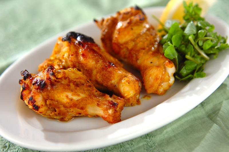手羽元のカレーグリル【E・レシピ】料理のプロが作る簡単レシピ/2011.07.11公開のレシピです。