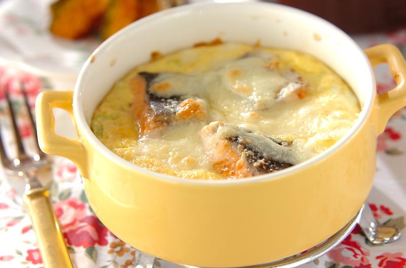 鮭とキャベツのオーブン焼き