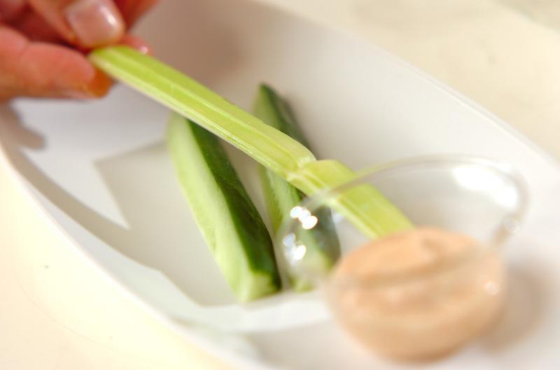 明太子のディップの作り方の手順7