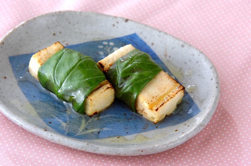 豆腐のハーブ包みの作り方の手順