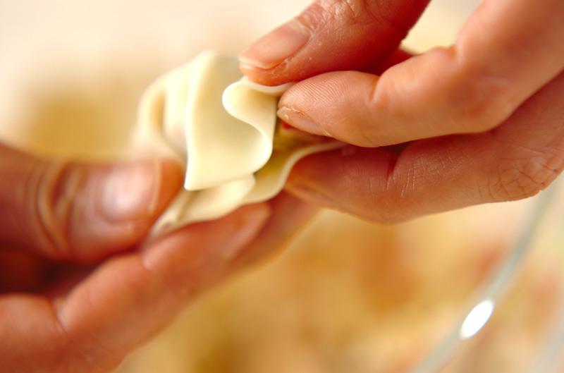 タコ焼き風揚げ餃子の作り方の手順6