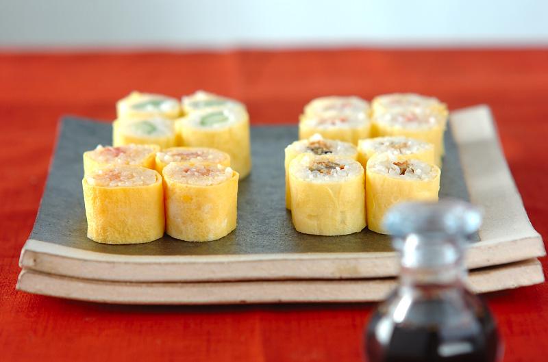卵の細巻き寿司