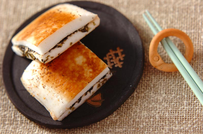 ハンペン明太サンド