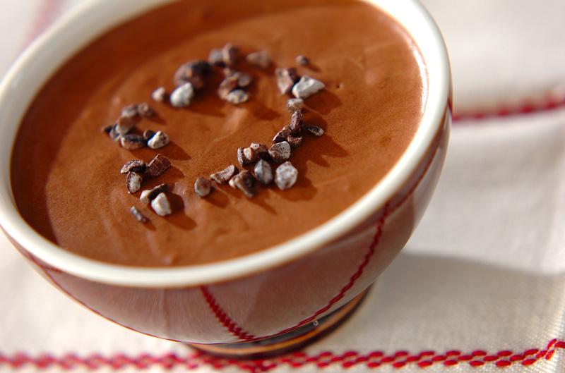 豆乳チョコムースの作り方の手順