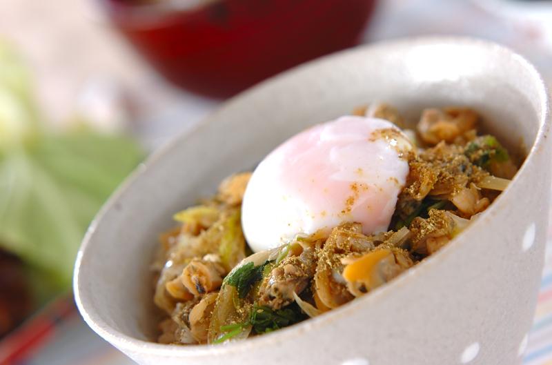 アサリ玄米丼