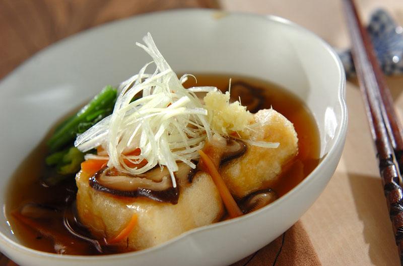 揚げ 出し 豆腐 あんかけ カリっ!ふわ!揚げ出し豆腐の野菜たっぷりあんかけ(副菜)