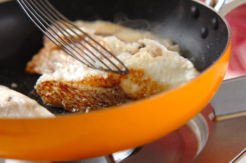 鯛のハーブ焼きの作り方の手順6